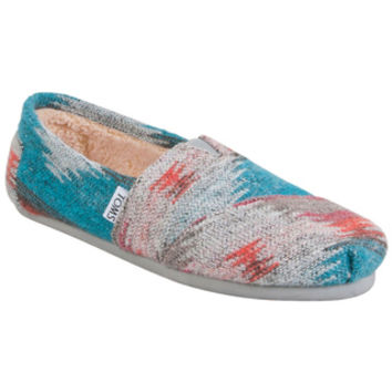 TOMS Friday Wool Classics Grey Red Multi Multicolor Sneaker