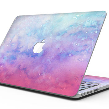 Washed Dyed 2142 Absorbed Watercolor Texture - MacBook Pro with Retina Display Full-Coverage Skin Kit