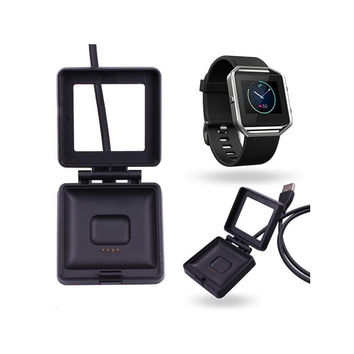 USB Power Charger Cable Battery Charging Dock For Fitbit Blaze Smart Watch Convenient for travelers and business users #ET228