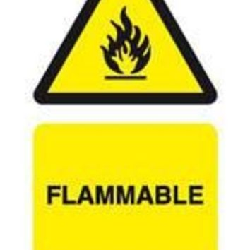 Tie tag, Flammable - Pack of 10
