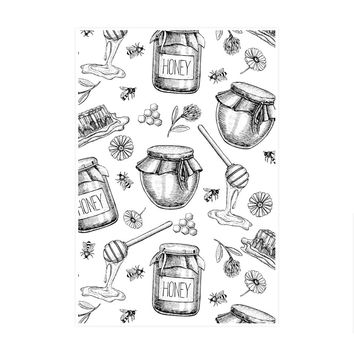 Honey Bee Sweet Art Print