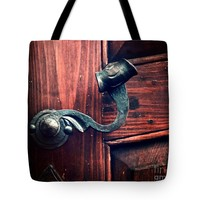 """Antique Door Knob Tote Bag for Sale by Ivy Ho (18"""" x 18"""")"""
