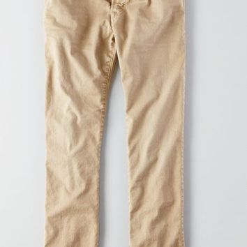 AEO Men's Slim Straight Core Flex Jean (Preppy Khaki)
