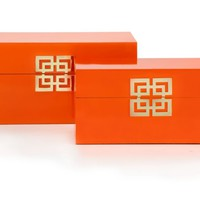 Ming Boxes - Set of 2 | Host & Hostess Gifts | Gifts | Z Gallerie
