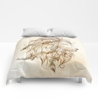Poetic Lion Comforters by LouJah