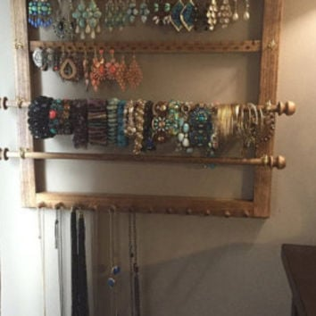 Best Wall Mounted Jewelry Organizer Products on Wanelo