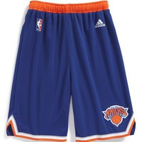 Boy's adidas 'Swingman Road - New York Knicks' Shorts,