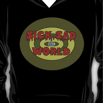 DARIA : NEXT ON SICK SAD WORLD TAKE 2  Hoodie (Pullover)