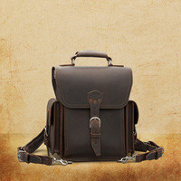 Backpack Dark Coffee Brown