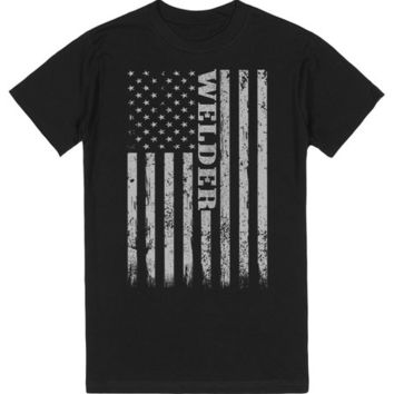 Welding Shirts with American Flag