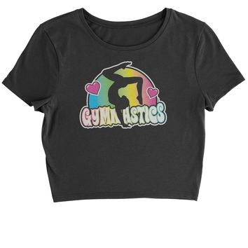 Gymnastics Neon Cropped T-Shirt