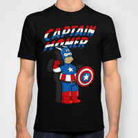 Captain Homer: the Simpsons superheroes T-shirt by Logoloco