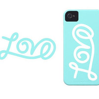 "3"" Love iPhone sticker vinyl decal"
