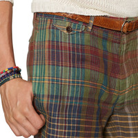 CLASSIC-FIT MADRAS SHORT