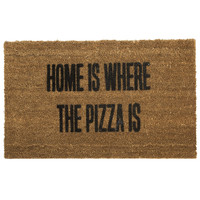 Home is Where The Pizza Is Doormat