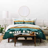 Anderson Design Group San Diego Duvet Cover