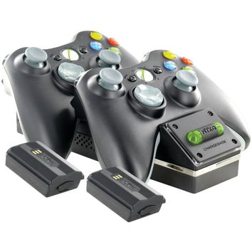 NYKO 86074 Xbox 360™ Controller Charging Dock: NYKO 86074 Xbox 360(R) Charge Base 360S