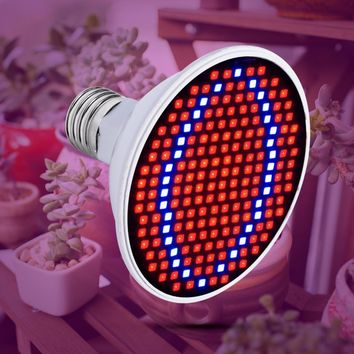 LED Grow Light for Supplemental Light, Seedlings and Clones - Light Bulb Base - 20W, 15W, 6W