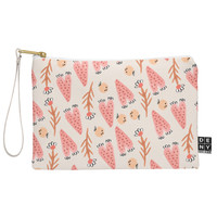 Gabriela Larios Hearts and Branches Pouch