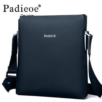 Men's shoulder messenger bags genuine leather crossbody sling bags Leisure business handbags for male