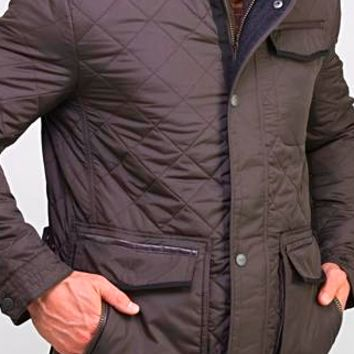 Madison Creek Outfitters Men's Adventurer Nylon Quilted Jacket~ Gunmetal Grey