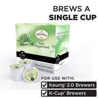 Keurig K-Cup Portion Pack Twinings of London Pure Peppermint Herbal Tea - 18-pk.