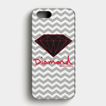 Red Diamond Supply Co Chevron iPhone SE Case
