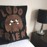 "Labyrinth, Ludo 16"" Cushion Cover (Alternative text available)"