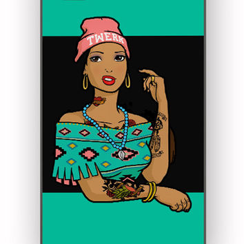 Pocahontas Hipster for iPhone 4/4S Case *