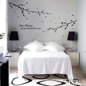 Vinyl Wall Sticker Decal  Cherry Blossom  the most by NouWall