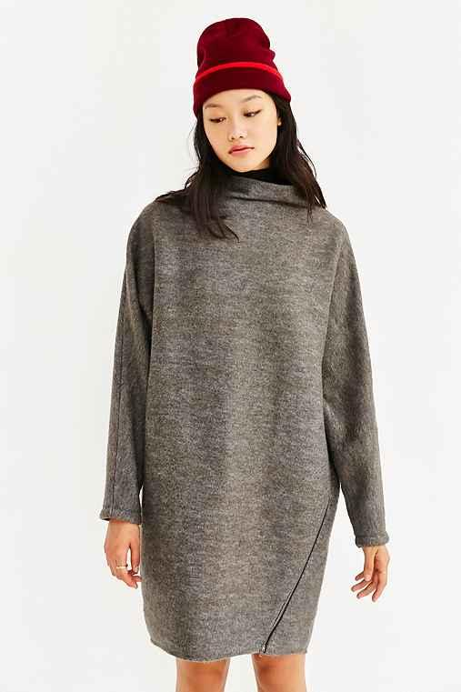 fc6c3d5fc62 Silence + Noise Dylan Funnel Neck Dress from Urban Outfitters