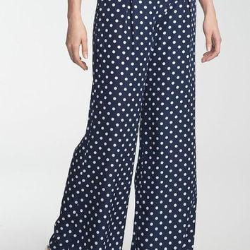 Topshop Flowy Dotted Pants