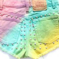 True beauty high waisted shorts