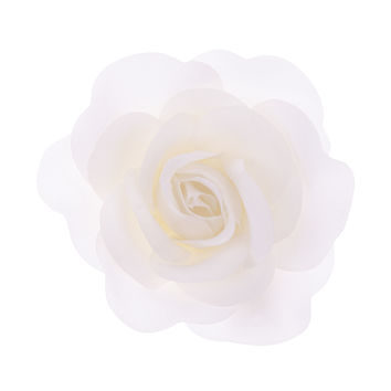 Pretty Beach Flower Clip | White | Accessorize