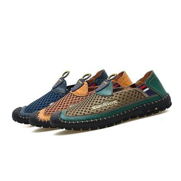 New Slip On Man Loafer Summer Fashion Casual Shoes