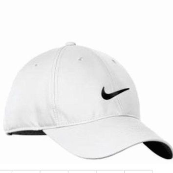 ESBONX5H NIKE GOLF NEW Adjustable Fit DRI FIT SWOOSH FRONT BASEBALL CAP HAT