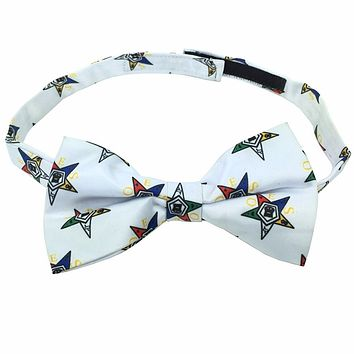 High Quality 100% Silk Masonic Order of Eastern Star Bow Tie