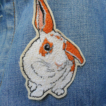 Custom Pet Portrait Embroidered Brooch/Patch