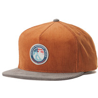 Rocky Mountain Tours Snapback Brown