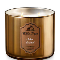 SALTED CARAMEL3-Wick Candle