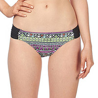 Bikini Lab Don't Worry Be Strappy Scrunch-Side Hipster Bottom - Multi