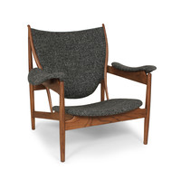 Twill & Ash Lounge Chair
