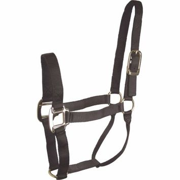 DuMOR® Classic Black Halter for Small Horse