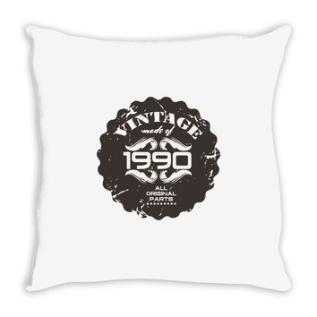 vintage made of 1990 all original parts Throw Pillow
