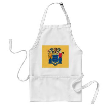 Apron with Flag of New Jersey, U.S.A.