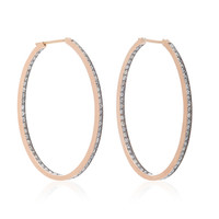 14K Rose Gold Diamond Earrings | Moda Operandi