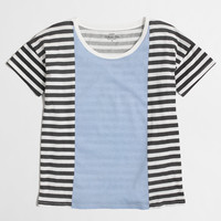 Factory stripe collector tee : Knits & Tees | J.Crew Factory