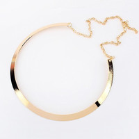 Statement Alloy Necklace
