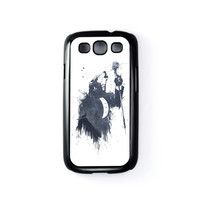Wolf Song 3 Black Hard Plastic Case for Samsung Galaxy S3 by Balazs Solti