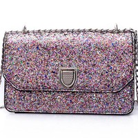Ultimate Rainbow Glitter Purse